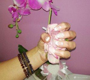 Vetrificazione su unghia naturale
