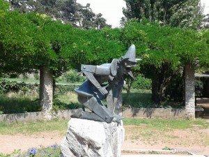 Statua di Pinocchio. Parco Revoltella, Trieste