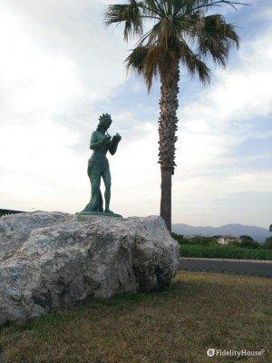 Statua della musa Calliope, Siderno