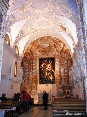 Cappella del S.S Crocifisso – Chiesa di San Giovanni Battista di Vittoria