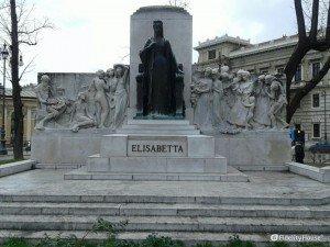 Monumento all'imperatrice Sissi -Trieste