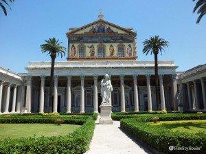 Quadriportico della Basilica di San Paolo fuori le Mura, Roma