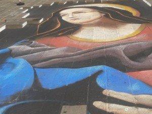 La meravigliosa arte di strada a Ferrara!