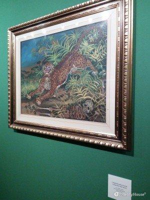 """""""Leopardo nella foresta"""", di Antonio Ligabue"""