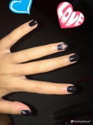 Nail art amore amore amoree…