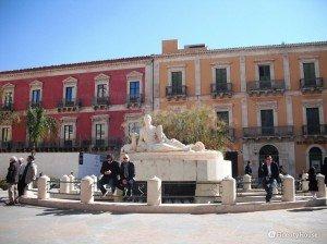 Piazza fonte Diana di Comiso (RG)