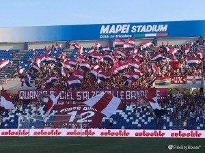 Coreografia Teste Quadre alla partita Reggiana – Ancona