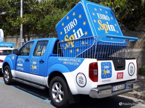Sponsor Eurospin nella Carovana per il Giro d'Italia 2016