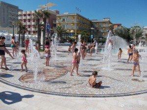 Giochi d'acqua a Misano Adriatico