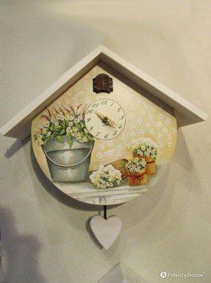 Orologio a cucù, idee per la casa