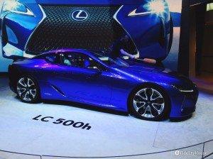 Nuova Lexus LC 500h