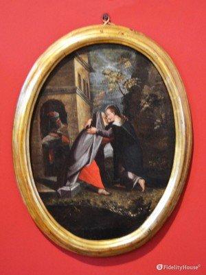 La visita di Maria Vergine a Santa Elisabetta – Museo Diocesano di Mantova
