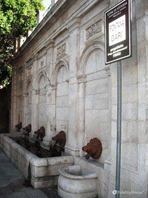 La fontana del Garì di Vittoria (Rg)
