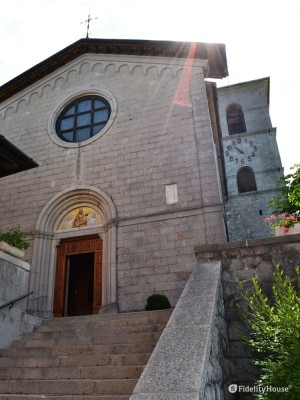 Facciata Santuario di Castelmonte (UD)