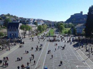 L'Esplanade: area del Santuario di Nostra Signora di Lourdes