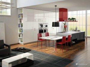 Design in cucina – tocchi di colore e semplicità