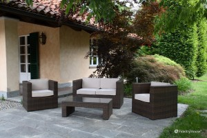 Arredo giardino in stile minimal