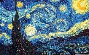 """La """"Notte stellata"""" di Van Gogh"""