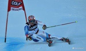 Alberto Tomba in slalom